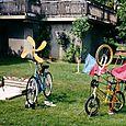 Two bikes  send